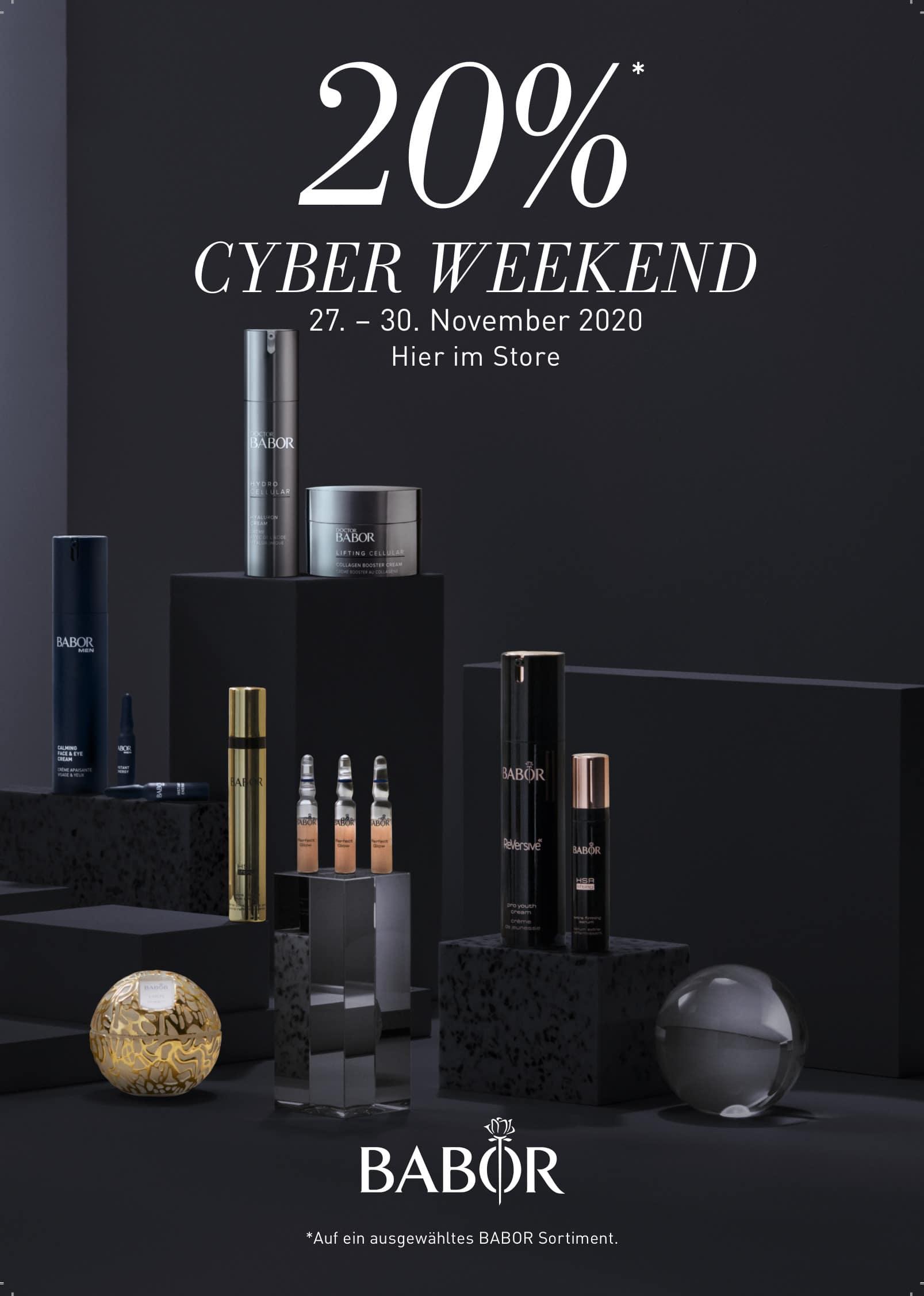 BABOR Cyber Weekend 2020